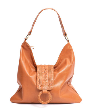 Leather Shoulder Bag - Angel