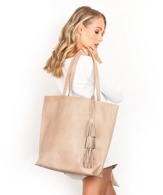 Leather Tote Bag - Sloan