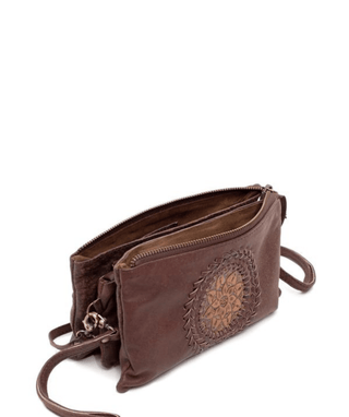 Leather Crossbody Purse - Moira