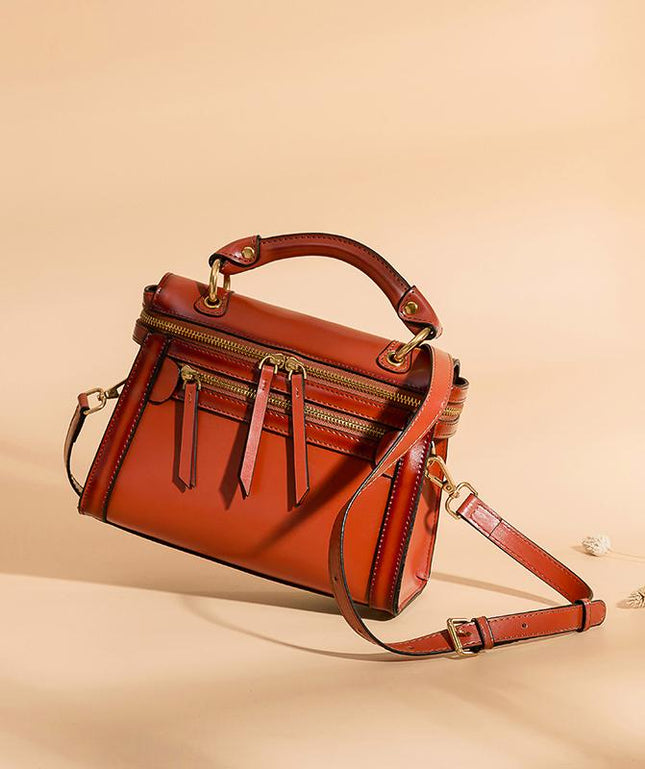Leather Crossbody Bag - Esme