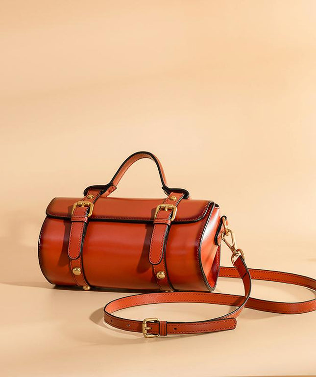 Leather Crossbody Bag - Fahrah