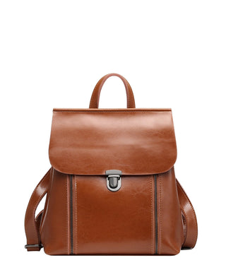 Leather Backpack - Nala