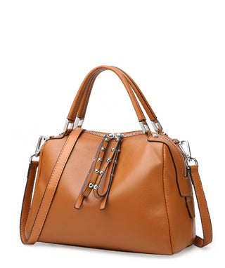 Leather Shoulder Bag - Manee