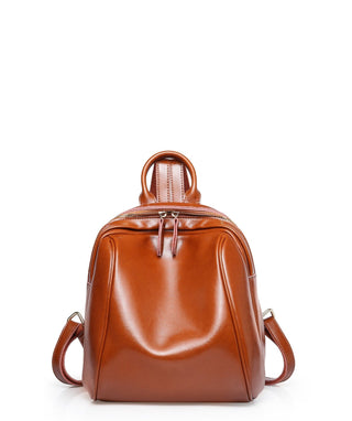 Leather Backpack - Eliza