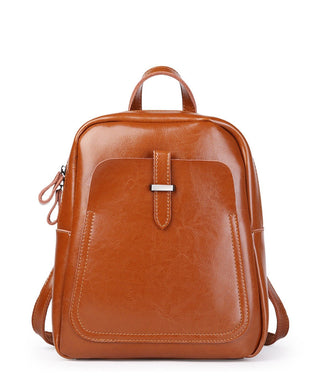 Leather Backpack - Amelia