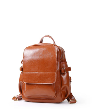 Leather Backpack - May