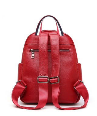 Leather Backpack Bag - Theo