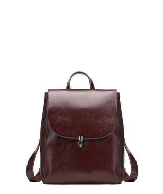 Leather Backpack Bag - Terri