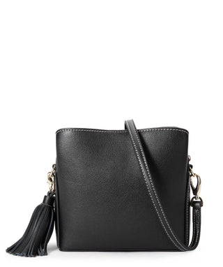 Leather Crossbody Bag - Hazel