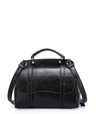 Leather Crossbody Bag - Ana