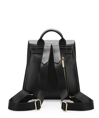 Leather Backpack - Elle