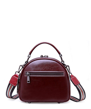 Leather Crossbody Bag - Athena