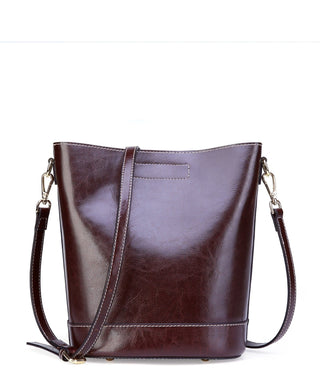 Leather Tote Bag - Jay