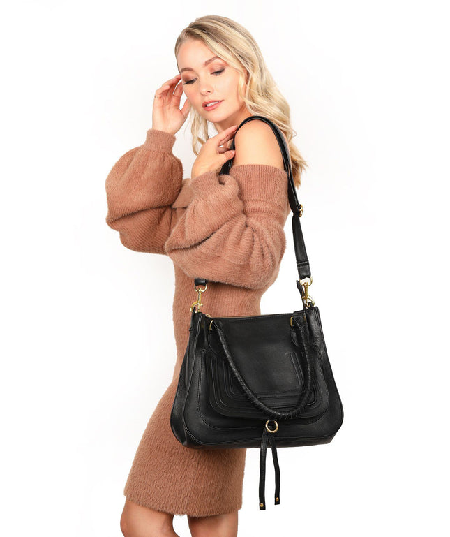 Leather Tote Bag - Lexi