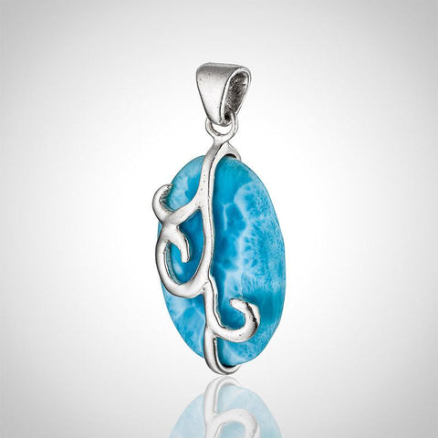 Larimar Pendant - Exquisite Flair