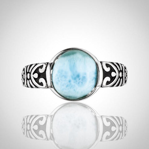 LAURA BONETTI Paraiso Collection - Larimar Ring