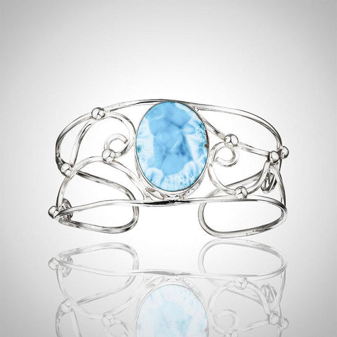 Larimar Cuff - Enchanted Stone