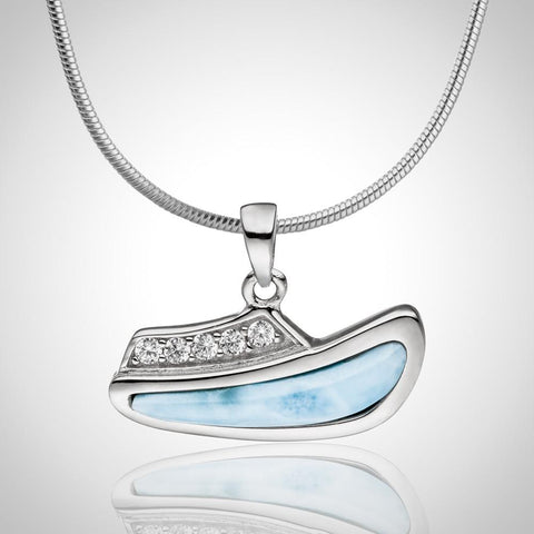 LAURA BONETTI Cruise Memories Collection - Larimar Cruise Ship Pendant / Charm