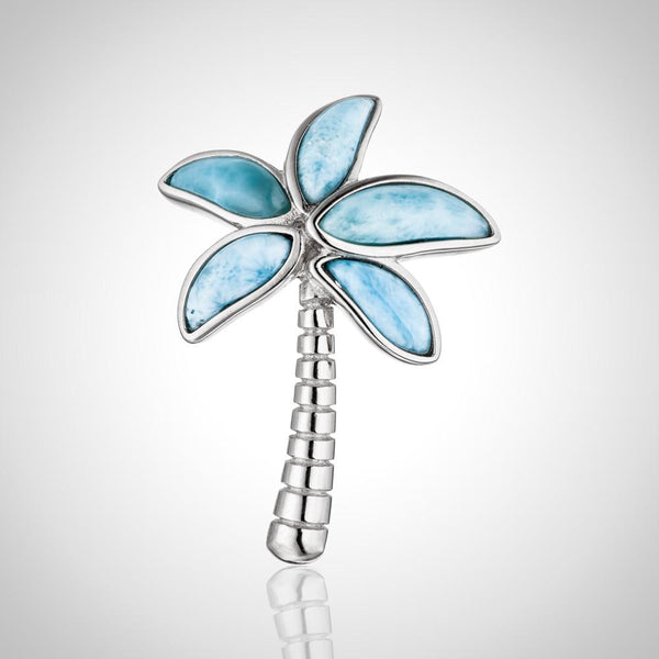 Laura bonetti cruise memories collection larimar palm tree pendant mozeypictures Gallery