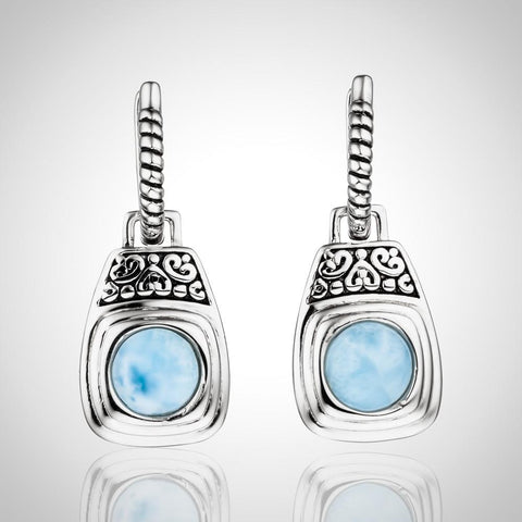 LAURA BONETTI Paraiso Collection - Larimar Earrings