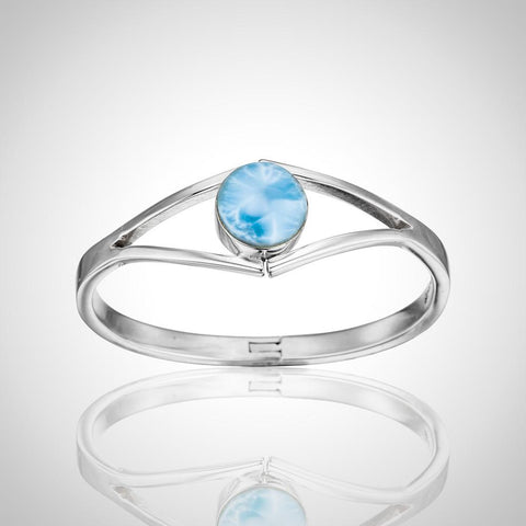 Larimar Bangle - Eye Candy