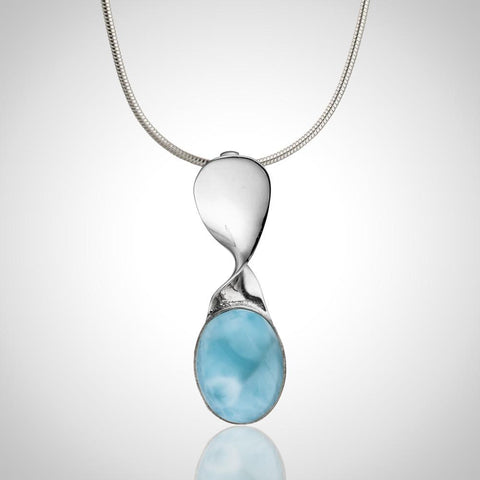 Larimar Pendant - Twisted Chic