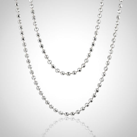 Sterling Silver Curb Chain - 1.8mm / 80cm