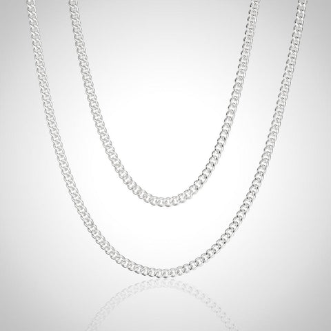 Sterling Silver Snake Chain - 1.1mm / 45cm
