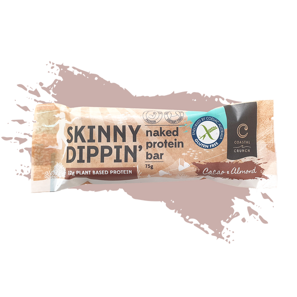 Skinny Dippin' Naked Protein Bar - Cacao & Almond (75g)