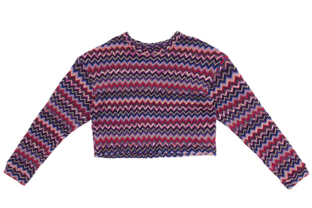 RAINBOW LUREX KNIT