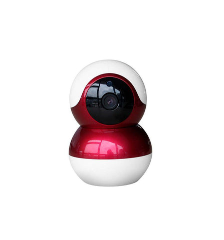 Wi-Fi Ultra Wide 1080P HD Smart IP Baby Monitor & Security Camera (Red)