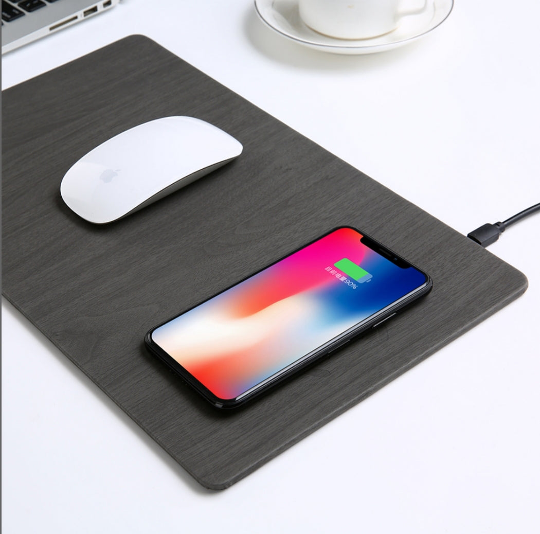 Mouse Pad & Wireless Charger
