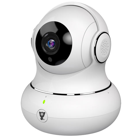 Littlelf Wi-Fi HD Smart IP Baby Monitor & Security Camera (White)