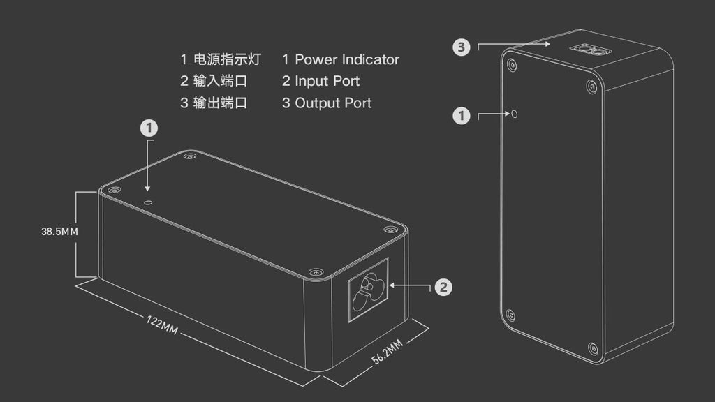 ISDT CP16027 Power Adapter