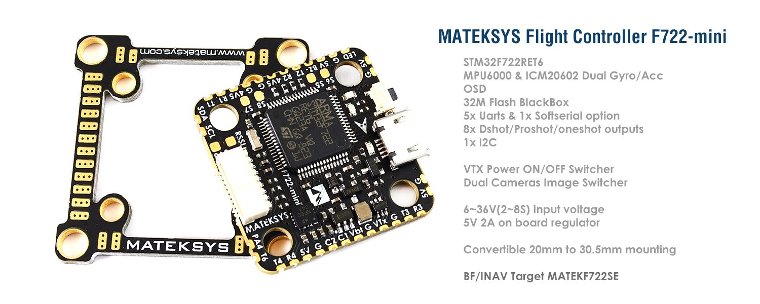 FLIGHT CONTROLLER F722-MINI
