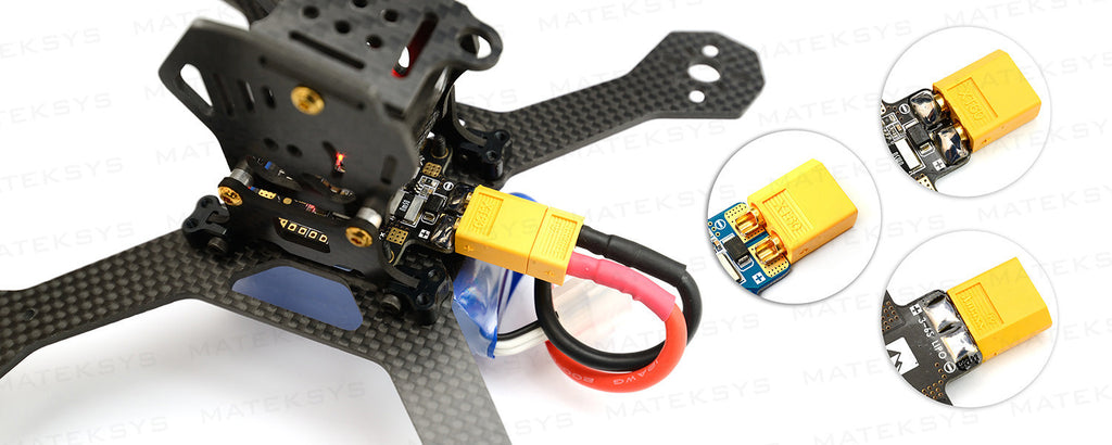 Matek FCHUB-6S with Current Sensor 184A BEC 5V & 10V PDB