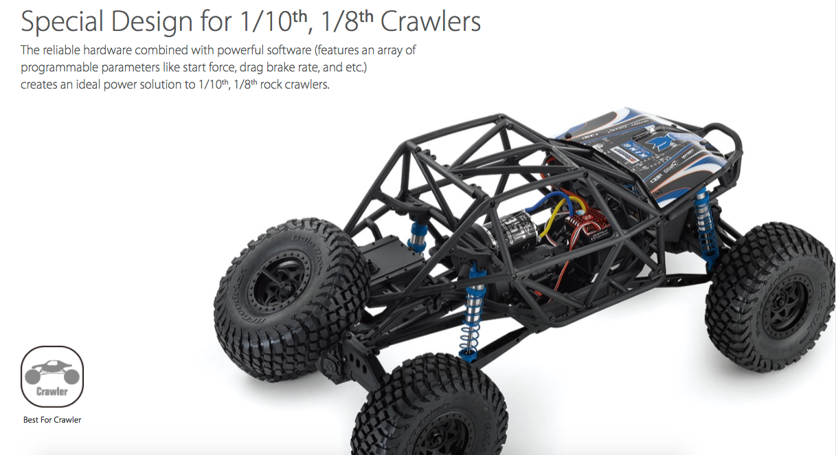Hobbywing Quicrun Waterproof Crawler Brushed