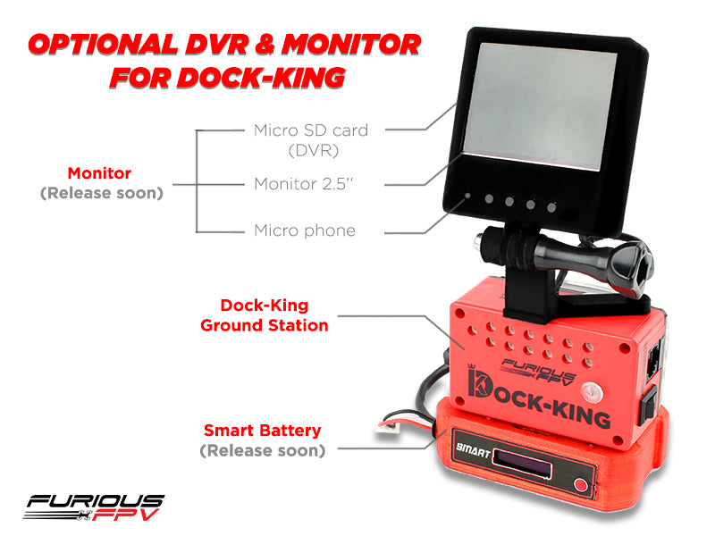 Combo Dock-King Ground Station and True-D Diversity Firmware 3.7D