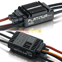 Hobbywing Platinum 100A V3 Brushless ESC with 10A BEC - RC Papa