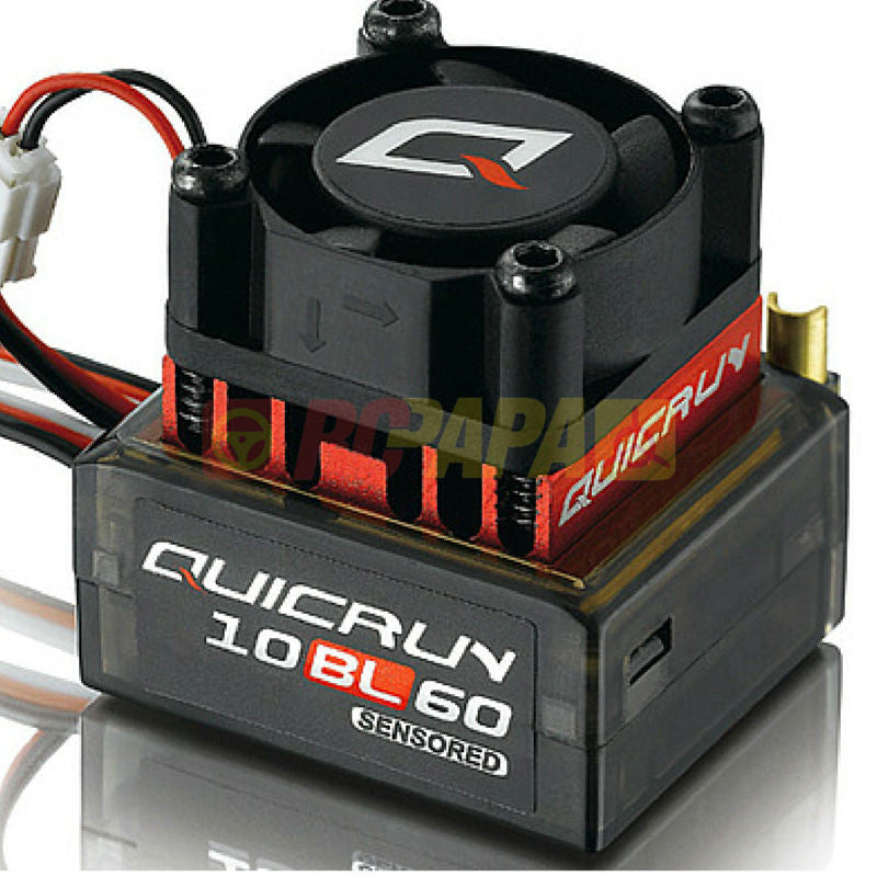Hobbywing Quicrun 10BL60 60A Brushless Sensored Motor ESC - RC Papa