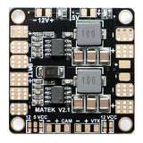 Matek Mini Power Hub w/ 5V/12V BEC Power Distribution Board PDB for FPV - RC Papa