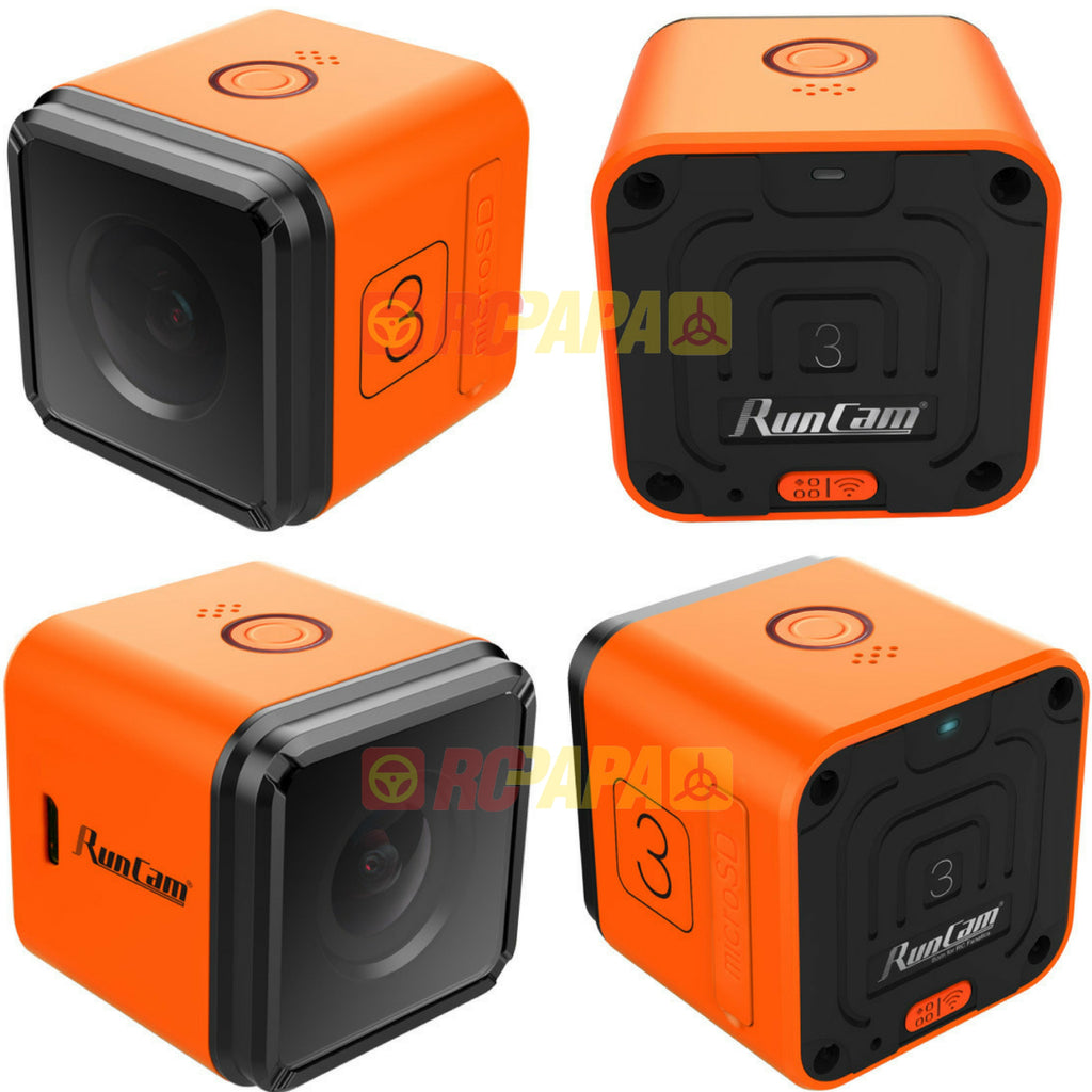 RunCam 3 Full HD 1080p 155 Degree Wide Angle FPV/Action Camera - RC Papa