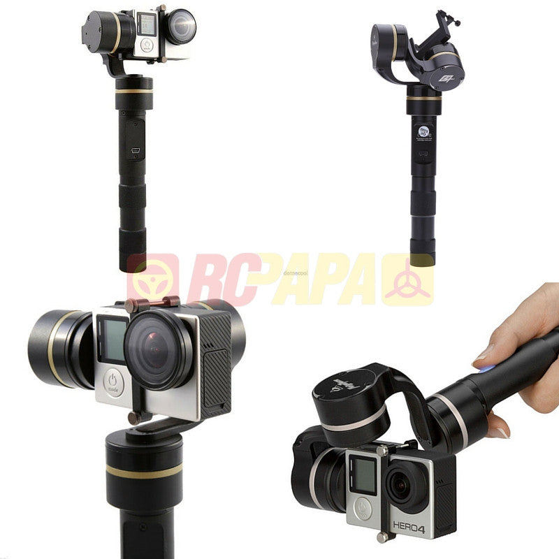 Feiyu G4 3-Axis Handheld Steady Gimbal for GoPro Hero - RC Papa
