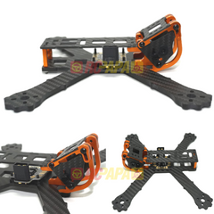 "Armattan Chameleon FPV Racing Quad Frame Kit (5"" with PDB, Orange)"