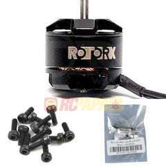RotorX RX1105 6500kv High Performance Brushless Motor (4pc Set) - RC Papa
