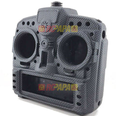 X9D Plus Taranis Radio Transmitter Water Transfer Shell (Matte Carbon Fiber Pattern) - RC Papa