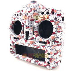FrSky X9D Plus Taranis Radio Transmitter Water Transfer Shell (Hello Kitty White) - RC Papa