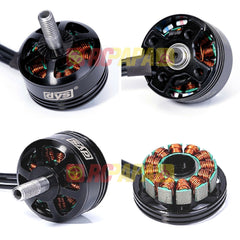 DYS SE2205 2550KV Brushless Motor for Quad FPV - RC Papa