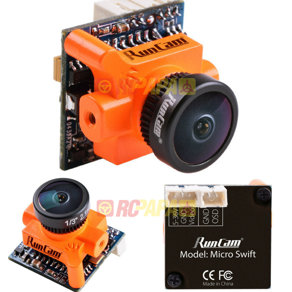 RunCam Micro Swift FPV Camera (2.3mm Lens) - RC Papa