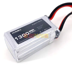 Bonka Graphene Series 1300mAh 80C 14.8V 4S Lipo Battery - RC Papa - 1
